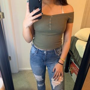 NEW W/TAGS  XS Pacsun crop top